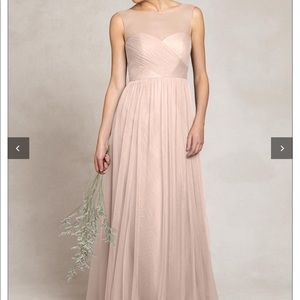 Jenny Yoo Aria soft pink bridesmaid dress size 4